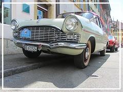 Vauxhall Cresta PA, 1959 (v8dub) Tags: vauxhall cresta pa 1959 schweiz suisse switzerland le landeron british pkw voiture car wagen worldcars auto automobile automotive old oldtimer oldcar klassik classic collector gm