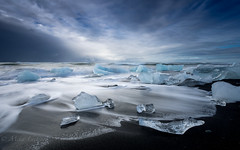 Cold wave (Mika Laitinen) Tags: canon5dmarkiv diamondbeach europe horizon iceland jökulsárlón leefilters beach blacksand cloud color dreamscape ice landscape nature ocean outdoors sea seascape shore sky sunset water wave easternregion is