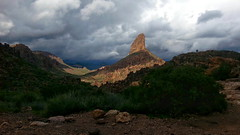 Weaver's Needle (Bsandtana) Tags: arizona superstitionmountains hiking scenic desert storm thunderstorm landscape peraltatrail