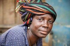 Sierra Leone (Miro May) Tags: afrika africa afrique beauty culture colors colourful canon ethnic ethnology faces face people portrait portraiture pose sierraleone travel tradition tribe traditional tribu tribes tribal tribo trip turban woman