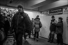 0m2_DSC7920 (dmitryzhkov) Tags: metro subway underground crossing crosswalk crowd work employee job worker converse conversation group two couple step steps stair stairway passenger eye eyes eyecontact contact look looks woman women lady sony alpha black blackandwhite bw monochrome white bnw blacknwhite bnwstreet day daylight motion movement walk walker walkers pedestrian pedestrians sidewalk lowlightshot man men low lowlight art city europe russia moscow documentary journalism street streets urban candid life streetlife citylife outdoor outdoors streetscene close scene streetshot image