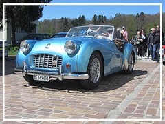 Triumph TR3 (v8dub) Tags: triumph tr 3 schweiz suisse switzerland bleienbach british roadster pkw voiture car wagen worldcars auto automobile automotive old oldtimer oldcar klassik classic collector