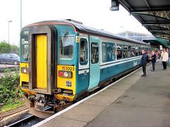 153322 (R~P~M) Tags: train railway dmu multipleunit 153 sprinter angliarailways ipswich suffolk england uk unitedkingdom greatbritain diesel