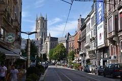 Gante (Bélgica) (littlecastle96) Tags: gante bélgica geografíahumana edificio monumento turismo city ciudad belgium tranvía torre tower arquitectura architecture trolleycar