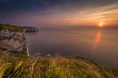 White cliffs in sunset (Sizun Eye) Tags: etretat normandy hautenormandie france falaise cliffs sea lamanche sunset coucherdesoleil june 2017 vüfilters nikon1424mmf28 nikkor1424mmf28 1424mm nikkor nikon leefilters nisifilters seascape landscape gettyimages