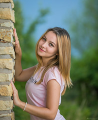 Beautiful girl (Irena Rihova) Tags: lady woman women girl czech storm portrait people young blond