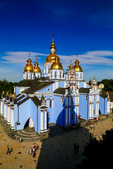 St. Michael's Monastery - Kiev, Ukraine (Dimtze) Tags: kyiv kyivcity ukraine ua