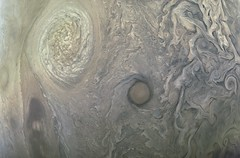 Jupiter - Juno's Perijove 7 (Kevin M. Gill) Tags: jupiter perijove7 juno junocam nasa jpl planetary science astronomy space