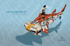"Hammerhead-3 (Markus ""Madstopper"" Ronge) Tags: lego submarine moc steampunk madstopper nautical submersible uboot"