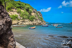 Just Tropical (S.LPhotography) Tags: landscape sea water boat nature martinique beach travel island tourism summer tropical 972 caribbean tombolo saintemarie 97230