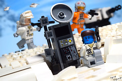 """Defend the uplink station!"" (RagingPhotography) Tags: d3300 lego star wars battlefront hoth uplink station jump packs rebellion alliance rebel galactic empire imperial blasters snow civil war cold ragingphotography"