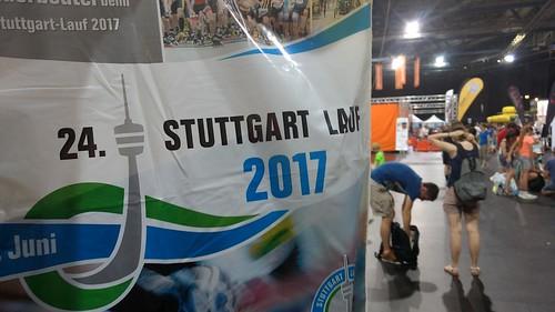 Kleiderbeutel für den Stuttgartlauf