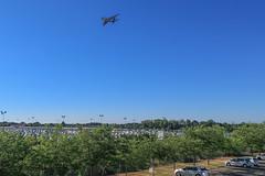 Super Jumbo flying over Nantes-Atlanatique (chilirv) Tags: superjumbo a380 airbus nantes nantesatlantique thebridge lfrs nte
