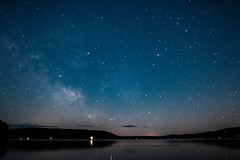 Mazinaw Dusk (Jay:Dee) Tags: topw2017rs topw toronto photo walks bonecho provincial park 2017 camping trip visit ontario outdoors forest nature vacation fun astrophotography stars milky way space constellation lakemazinaw
