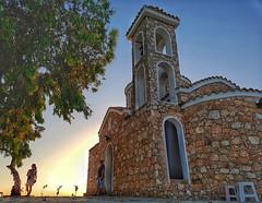 Church of Profitis Elias, Portaras, Cyprus (Hatto26) Tags: profitis elias church protaras cyprus holy religious tree ayios orthadox famagusta prophit prophet