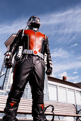 Hey, I think I can see my house from up here (greyloch) Tags: dccosplay cosplay costume marvel comicbookcharacter moviecharactercostume moviecharacter antman giantman 2017 canonrebelt6s niksoftware forcedperspective