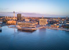 DOKK1 SUNRISE (SmartDrones Aarhus) Tags: aarhus aarhushavn dokk1 goldenhour solopgang sommer centraldenmarkregion denmark dk fotodennisborupjakobsen