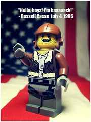 Russell Casse (LegoKlyph) Tags: lego custom minifigure 4th july independence russell casse pilot id4 alien war movie space