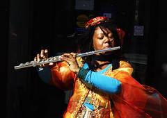 Street Musician, Toronto (klauslang99) Tags: streetphotography klauslang toronto busker flute music person portrait