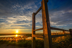 A Wooden Structure (JayneB14) Tags: heskethbank lancashire marsh marshland northwestengland sunset