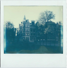 Amsterdam | another reverie (another reverie) Tags: amsterdam city netherlands citylife grachten gevels polaroid impossible holland canals analog