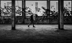 Lost Place (ThorstenKoch) Tags: street streetphotography schatten silhouette strasse stadt shadow walk man germany tags blackwhite bnw outdoor windows light lines pov people photography picture photographer pattern monochrome lost place lostplace factory fuji fujifilm xt10 thorstenkoch instagram