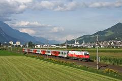 1116 087 (Polen) (René Große) Tags: eisenbahn railways train cityshuttle elok zug reisezug taurus 1116 siemens tirol schwaz österreich austria