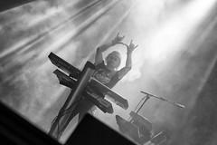 Joakim Svalberg of Opeth (diesmali) Tags: gothenburg västragötalandslän sweden liseberg storascenen metal band concert performance stage synth synthplayer metalsign metalfist blackandwhite monochrome light göteborg canoneos6d opeth