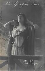 GRANDJEAN, Louise, Phèdre (Ariane), Opéra-Comique, Paris, 1907 (Operabilia) Tags: goldenage claudepascalperna opera autographe autograph operabilia soprano paris opéracomique ariane massenet louisegrandjean