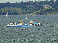 St Mawes Ferries (Cornishcarolin. Problems posting thanks xxx) Tags: cornwall falmouth pendennispoint boats workingboats ferries water carrickroads theriverfalestuary trelissickhousent