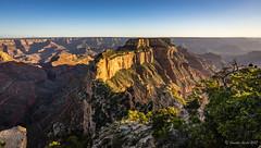 Grand Canyon North Rim (NettyA) Tags: 2017 arizona caperoyal grandcanyon grandcanyonnationalpark northrim sonya7r usa wotansthrone sunset travel