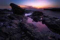 Magic Hour (katsumasa0313) Tags: sea seaacape sunset sigma sky dp0quattro rock coast ngc