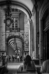 Praco Do Comercio Lisbon (mdavies149) Tags: lisbon portugal blackandwhite nikon d600 europe light buildings holiday citybreak cities michaeldavies