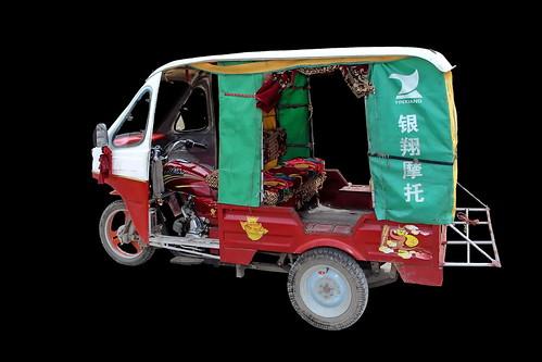 China - Yunnan - Dali - Auto Rickshaw Tricycle - 28d