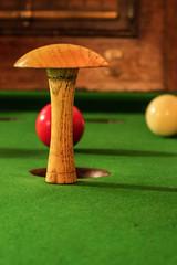 Bar Billiards (Ian De Búrca) Tags: canon canonm3 mushroom red snooker pub bar billiards