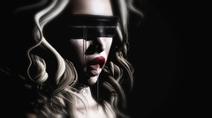 Sinner (Trixie Pinelli) Tags: noir kinkyevent erratic sinner kink dirtysecrets blindfold blonde blogger shopping fashion secondlife sl lelutka league ~tableauvivant~ erotic tableauvivant accessories mesh model lumipro bento digital avatar photography fetish bdsm submission daddysgirl owned drool adult