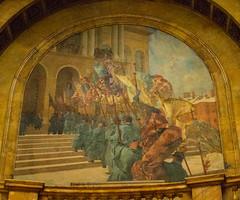 The Return of the Colors to the Custody of the Commonwealth, 1865 (phillipbonsai) Tags: boston usa edwardsimmons massachusettsstatehouse