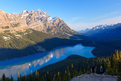 peyto lake_F2A1874_5_6 (warrengeorgebell) Tags: lake mountians rockies tourism sightseeing colour water jaspernationalpark icefieldsparkway mountcaldron mt patterson lakepeyto