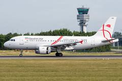 Qeshm Air / A319 / EP-SAS / EBBR 25L (_Wouter Cooremans) Tags: ebbr bru brusselsairport zaventem spotting spotter avgeek aviation airplanespotting qeshm air a319 epsas 25l qeshmair