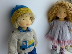 AJ and Francesca (Dearlittledoll) Tags: stoffpuppe stoffedoll waldorfdoll naturalkids naturalfiberdoll naturaltoy handmadedoll montessori madewithmyownhands