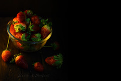 Strawberry Bucket (Karim S.Punjani) Tags: strawberry nopeople bowl studioshot woodmaterial berryfruit colorimage copyspace crockery foodanddrink freshness fruit fruitbowl healthyeating indoors largegroupofobjects messy metal photography red rustic stilllife vertical directlyabove abundance closeup lifestyle highangleview organic table wood material