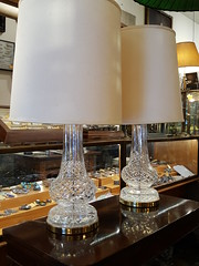 "Monster waterford table lamps, 35 inches tall. A pair.  $800 FOR THE PAIR. • <a style=""font-size:0.8em;"" href=""http://www.flickr.com/photos/51721355@N02/35864485306/"" target=""_blank"">View on Flickr</a>"