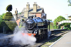 Ropley Station (markhlewis170262) Tags: black5