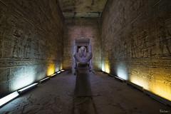 Horus - Sky God (Karnevil) Tags: africa egypt edfu philae nubia westernbank aswan lakenasser pharaoh king queen templeofedfu temples nubianmonuments unescoworldheritagesite horus bucketlist nikon d610 petekreps sky god skygod