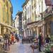 Uzes street view
