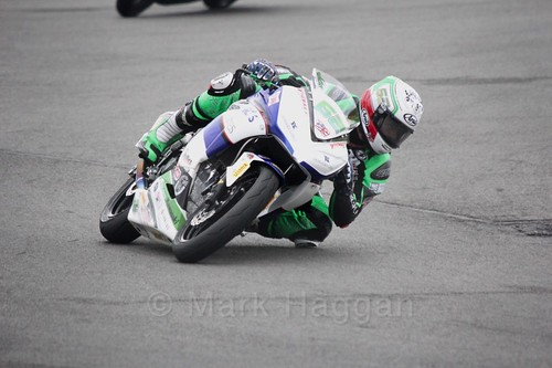 Jared Schultz in World Supersport 300 at Donington Park, May 2017