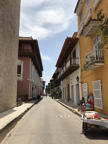 Barrio del Centro, Cartagena , Colômbia.