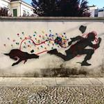 #padova #padua #veneto #Italia #Italy #street #streetart #streetphotography #graffitiart #graffiti #art #run #dog #kennyrandom thumbnail
