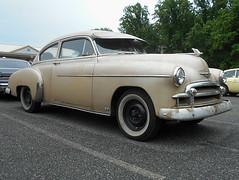 1950 Chevy Fleetline (splattergraphics) Tags: 1950 chevy fleetline carshow karbkingsnomads jarrettsvillemd