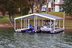 Boat Docks- Double Slip & Gable Roof
